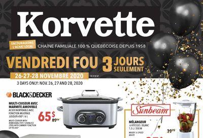 Korvette Black Friday Flyer November 26 to 28