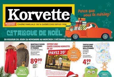 Korvette Flyer November 26 to December 2
