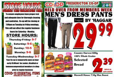 Fredericton Co-op Flyer November 26  to December 2