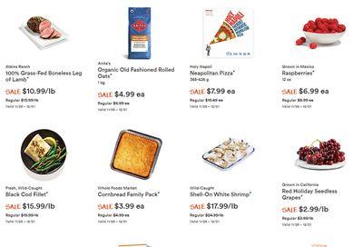 Whole Foods Market (West) Flyer November 25  to December 1