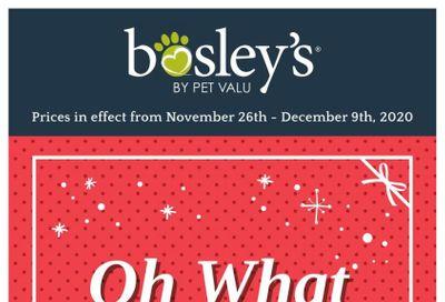 Bosley's by PetValu Flyer November 26  to December 9