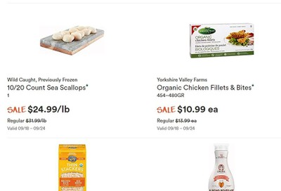 Whole Foods Market (ON) Flyer September 18 to 24