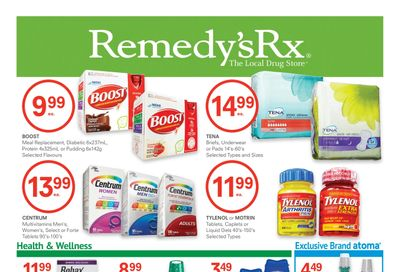 Remedy's RX Flyer November 27 to December 31