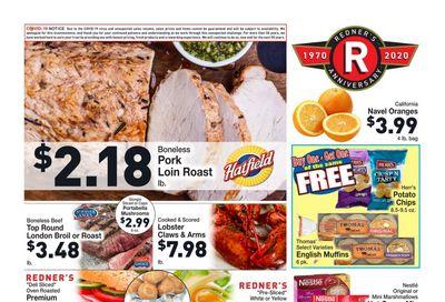 Redner's Markets Thanksgiving Weekly Ad Flyer November 26 to December 2, 2020