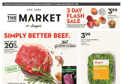The Market by Longo's Flyer September 18 to 24