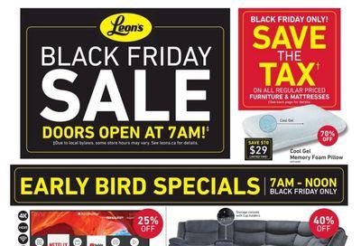 Leon's Black Friday Flyer November 27 to December 2, 2020