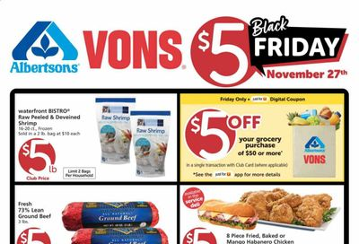 Albertsons Weekly Ad Flyer November 25 to December 15