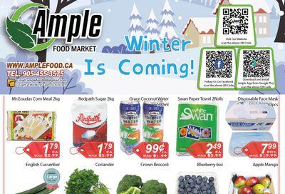 Ample Food Market Flyer November 27 to December 3