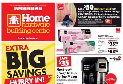 Home Hardware Building Centre (ON) Flyer September 19 to 25