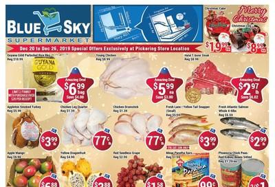Blue Sky Supermarket (Pickering) Flyer December 20 to 26