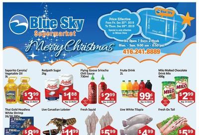 Blue Sky Supermarket (North York) Flyer December 20 to 26