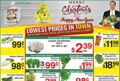 Fruiticana (Calgary) Flyer December 20 to 25