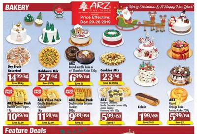 Arz Fine Foods Flyer December 20 to 26