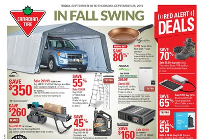 Canadian Tire (Atlantic) Flyer September 20 to 26