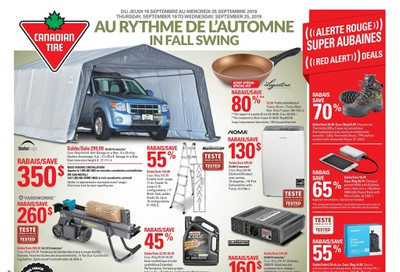 Canadian Tire (QC) Flyer September 19 to 25