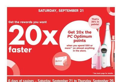 Shoppers Drug Mart (West) Flyer September 21 to 26