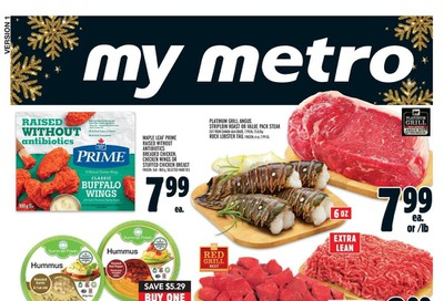 Metro (ON) Flyer December 26 to January 1