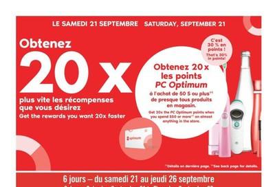 Pharmaprix Flyer September 21 to 26