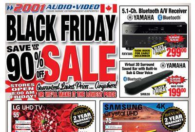 2001 Audio Video Flyer November 27 to December 3