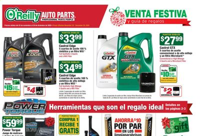 O'Reilly Auto Parts Weekly Ad Flyer November 25 to December 29