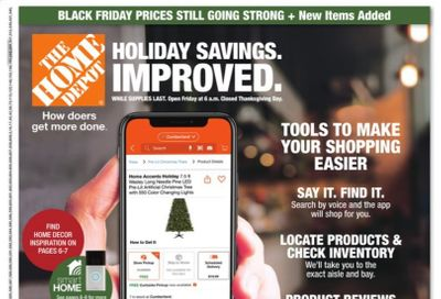 The Home Depot Weekly Ad Flyer November 26 to December 2