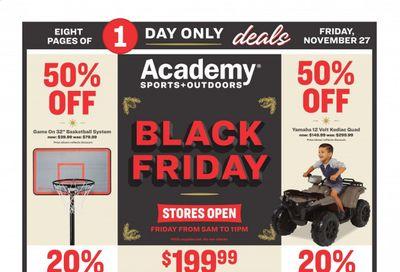 Academy Sports Weekly Ad Flyer November 27 to November 27