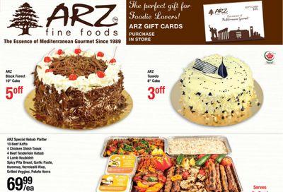 Arz Fine Foods Flyer November 27 to December 3
