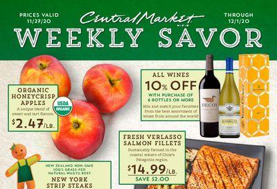 Central Market 5 Day Sale Ad Flyer November 27 to December 1, 2020