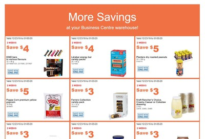 Costco Business Centre (Scarborough, ON) Instant Savings Flyer December 23 to January 5