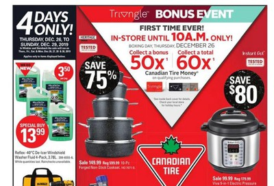 Canadian Tire (West) 2019 Boxing Week Flyer December 26 to January 2