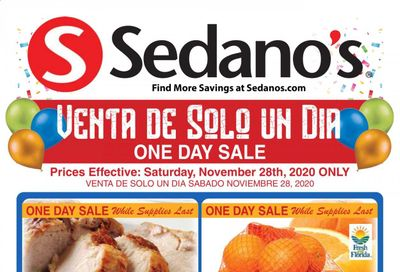 Sedano's (FL) Weekly Ad Flyer November 27 to December 1