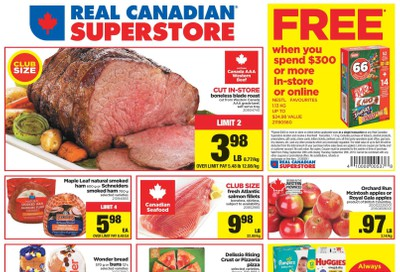 Real Canadian Superstore (West) Flyer September 20 to 26