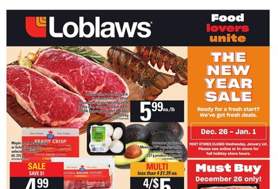 Loblaws (ON) Flyer December 26 to January 1