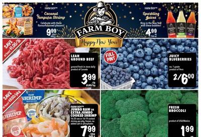 Farm Boy Flyer December 26 to January 1