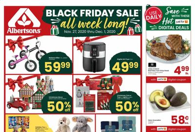 Albertsons Weekly Ad Flyer November 27 to December 1
