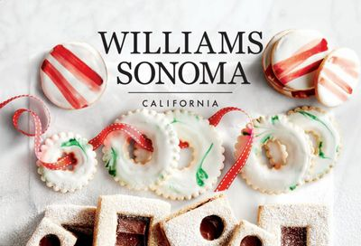 Williams-Sonoma Weekly Ad Flyer December 1 to December 31
