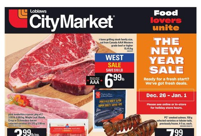 Loblaws City Market (West) Flyer December 26 to January 1