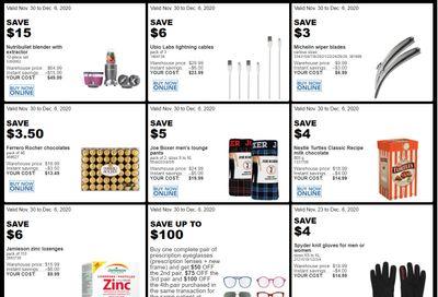 Costco (QC) Weekly Savings November 30 to December 6
