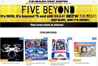 Five Below Weekly Ad Flyer November 25 to December 1