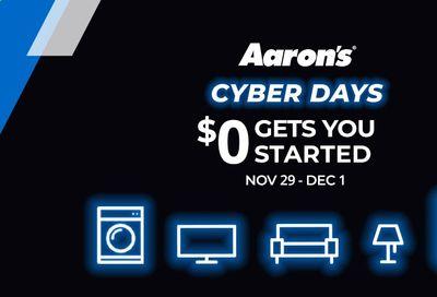 Aaron's Weekly Ad Flyer November 29 to December 1