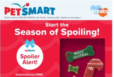 PetSmart Weekly Ad Flyer November 30 to December 18