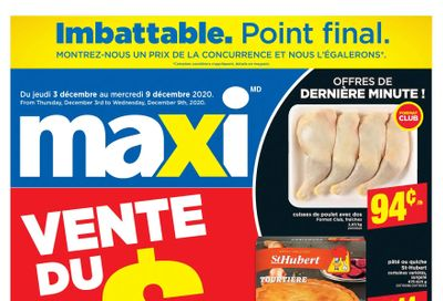 Maxi & Cie Flyer December 3 to 9