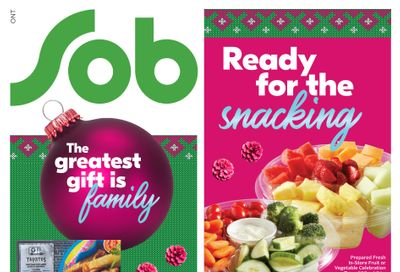 Sobeys (ON) Flyer December 3 to 9