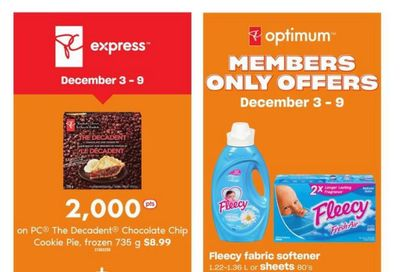 Loblaws (ON) Flyer December 3 to 9