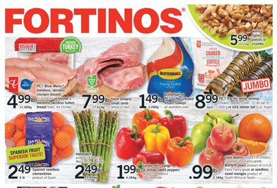 Fortinos Flyer December 3 to 9