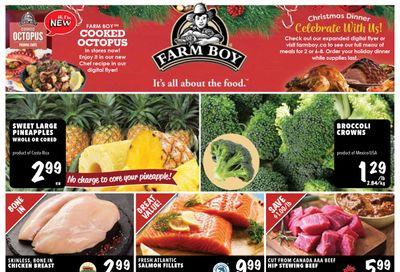 Farm Boy Flyer December 3 to 9