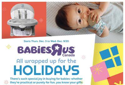 Babies R Us Flyer December 3 to 9