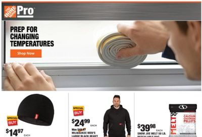 The Home Depot Weekly Ad Flyer November 30 to December 7