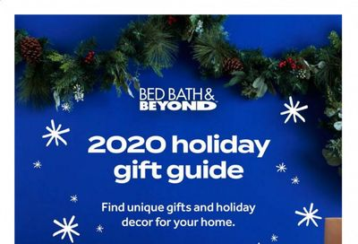 Bed Bath & Beyond Weekly Ad Flyer December 1 to December 26