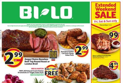 BI-LO Weekly Ad Flyer December 2 to December 8